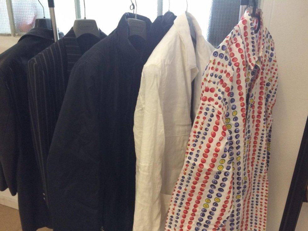 Series of men's shirts