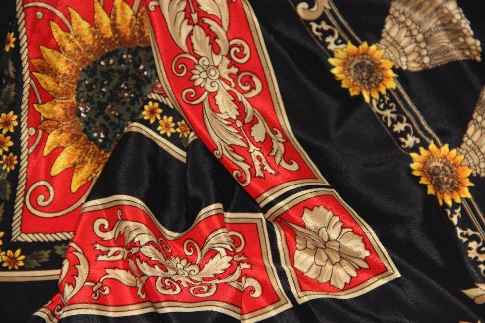 Printer silk foulard