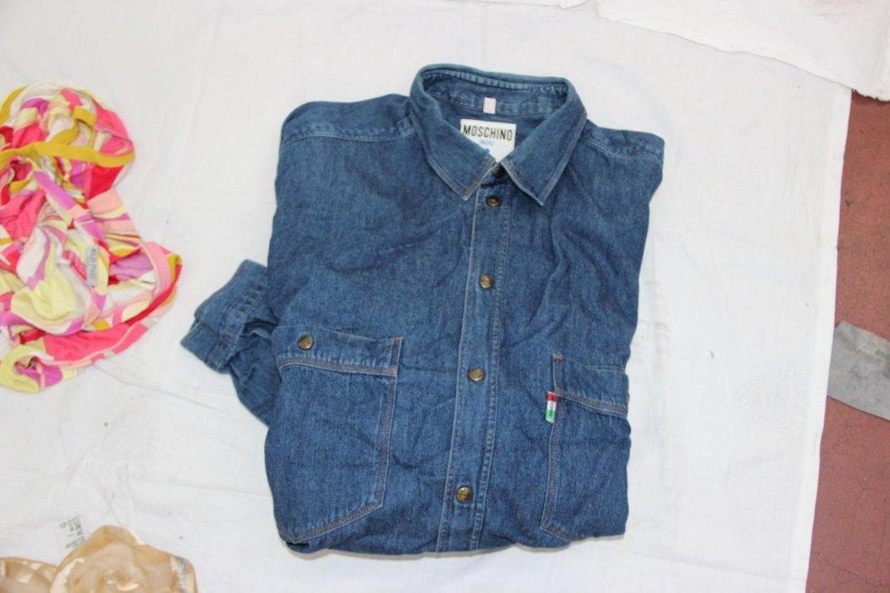 Camicia jeans Moschino
