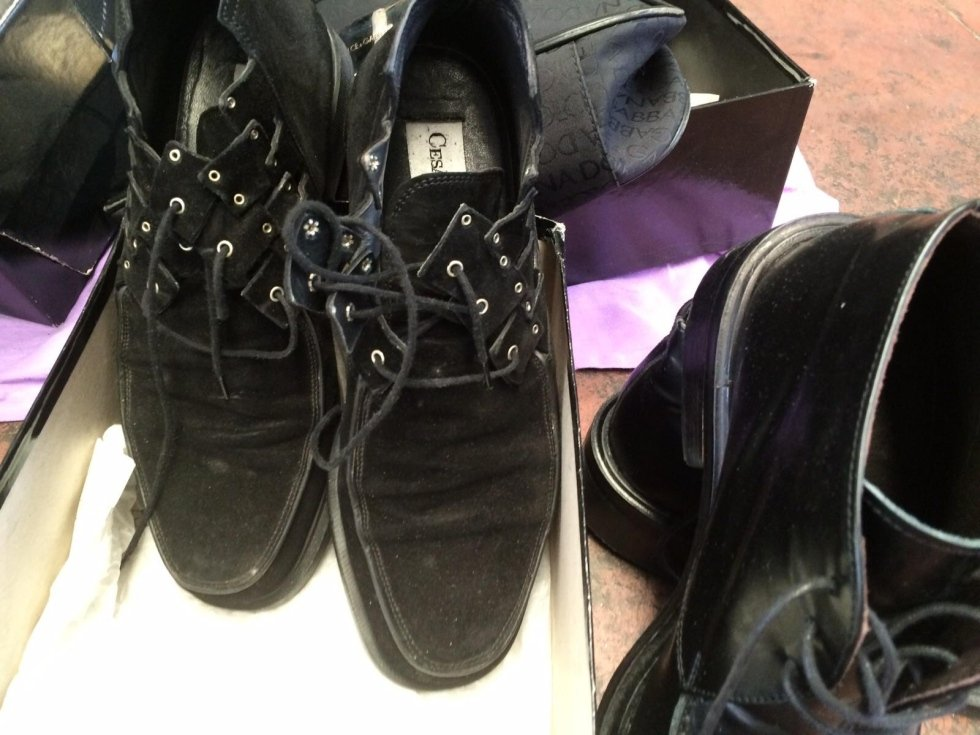 Paciotti leather shoes