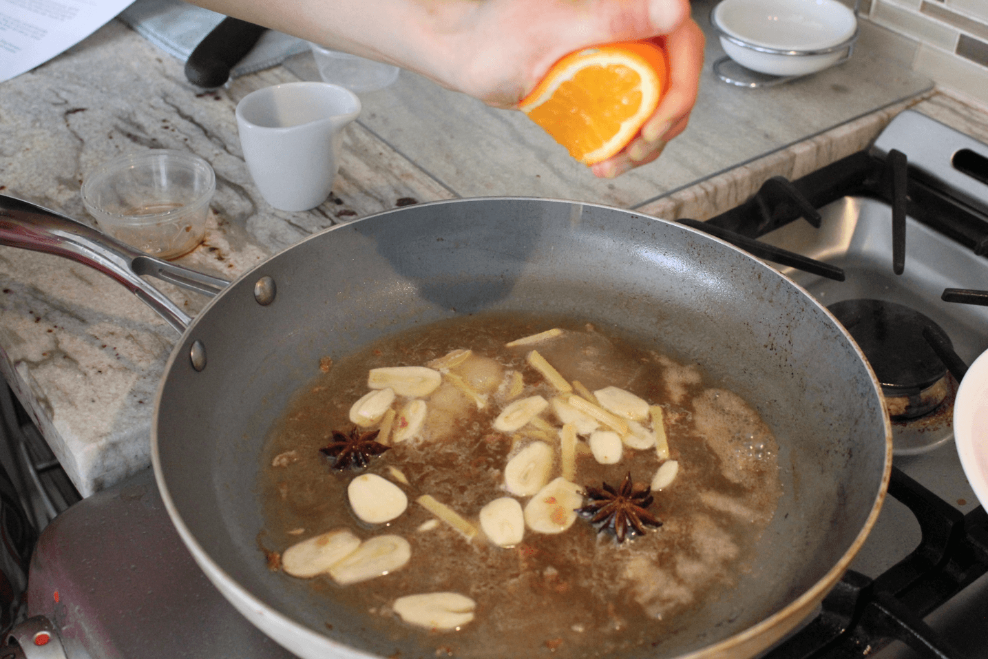 Star Anise And Ginger Chicken Recipe — Dishmaps