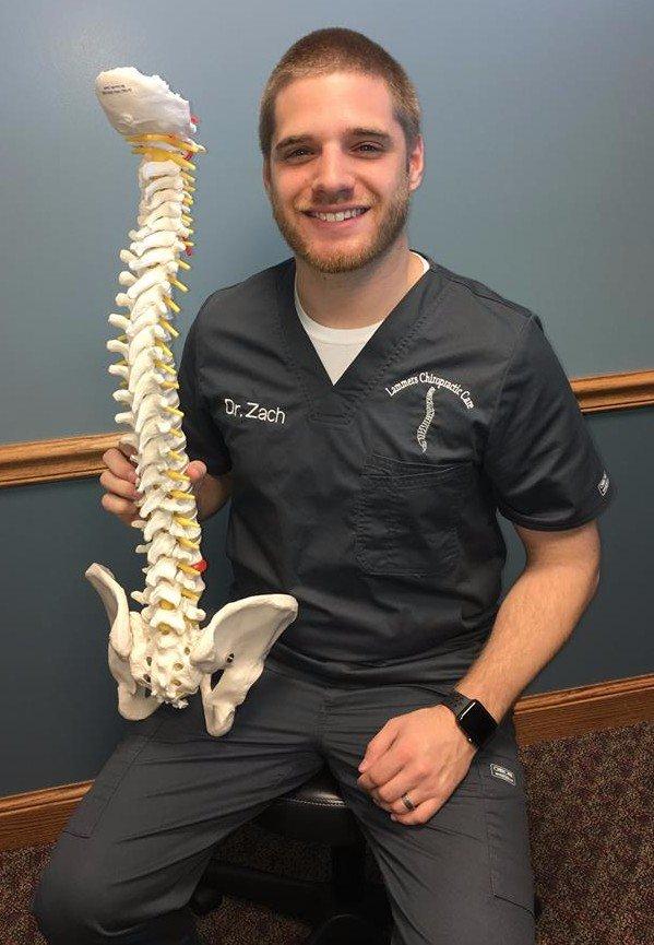 Chiropractor Dr. Zach Klausing