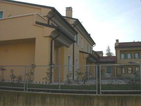 Immobiliare C3, Farra di Soligo: un dettaglio della costruzione.
