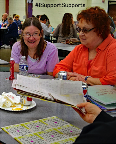 Fun resident activities like Bingo at Typical Life