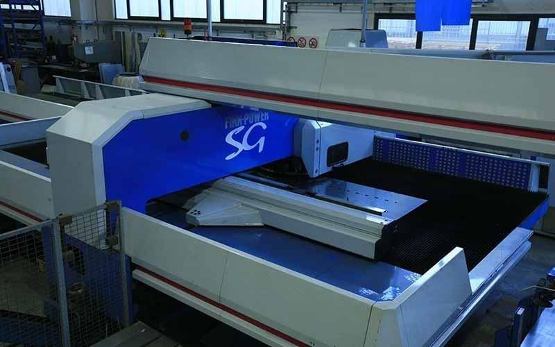machinery for sheet metal punching