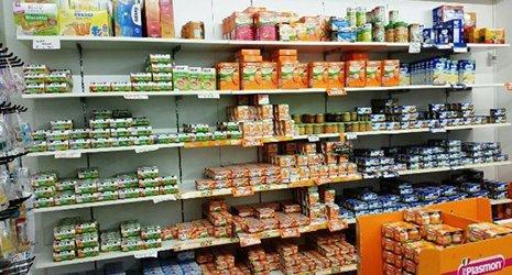 omogenizzati e altri prodotti a Comiso, Ragusa