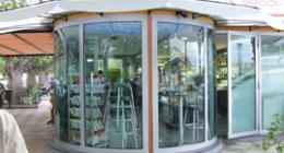 porte in vetro temperato
