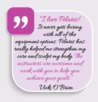 Customer Testimonial Fron Vicki O'Brien
