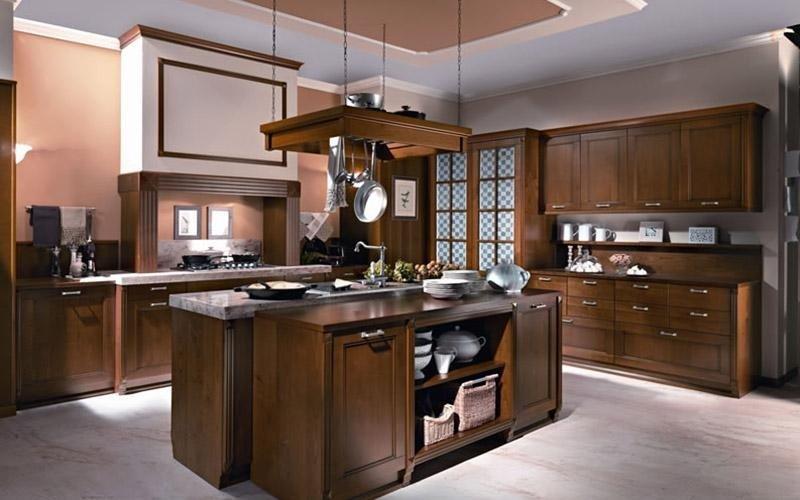 Cucina modello Hold line colore noce