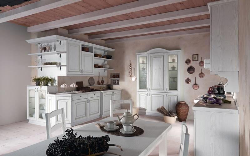 Cucina modello Ducale colore bianca