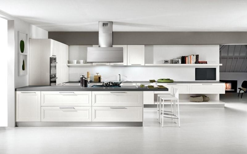 Cucina modello Itaca  bianca