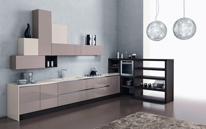 Cucina modello Vela cappuccino