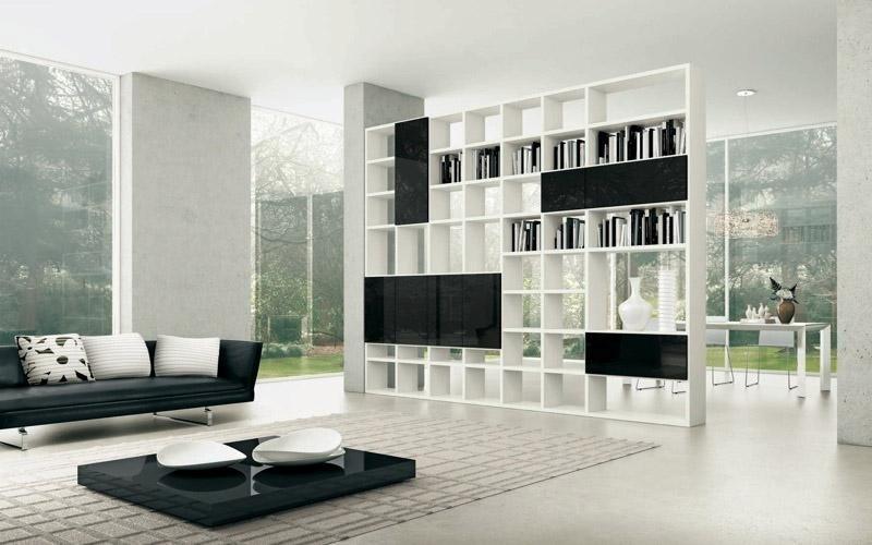 Mobili soggiorno modello My Space bifacciale