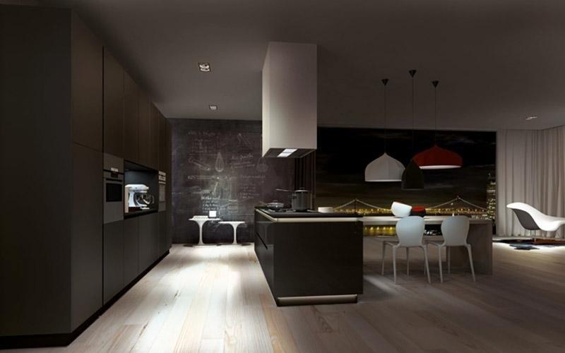 Cucina modello Petra mogano