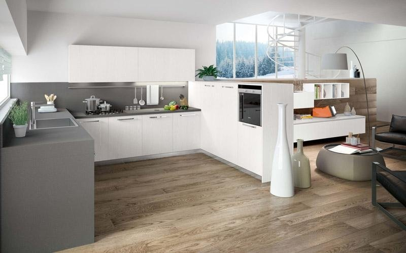 Cucina modello Petra bianca