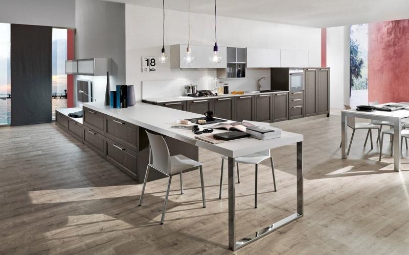 Cucina modello Itaca titanio