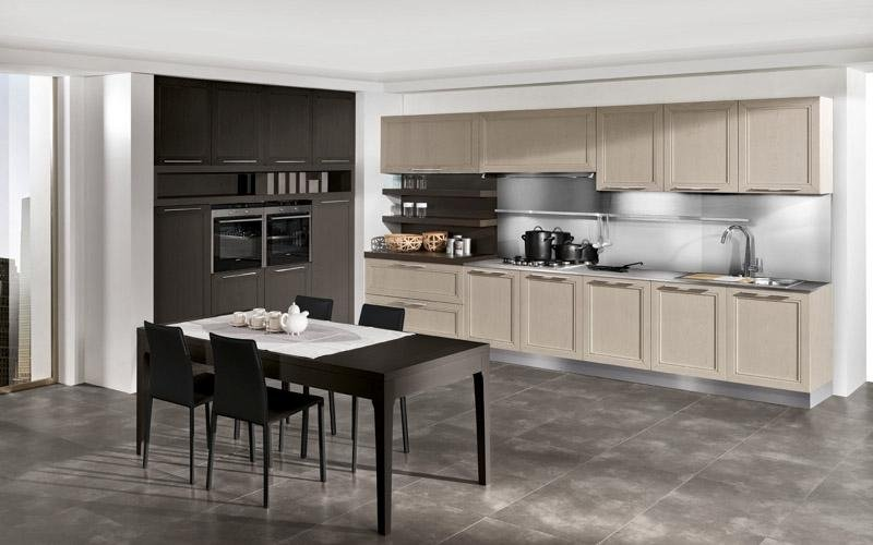 Cucina modello Itaca argilla