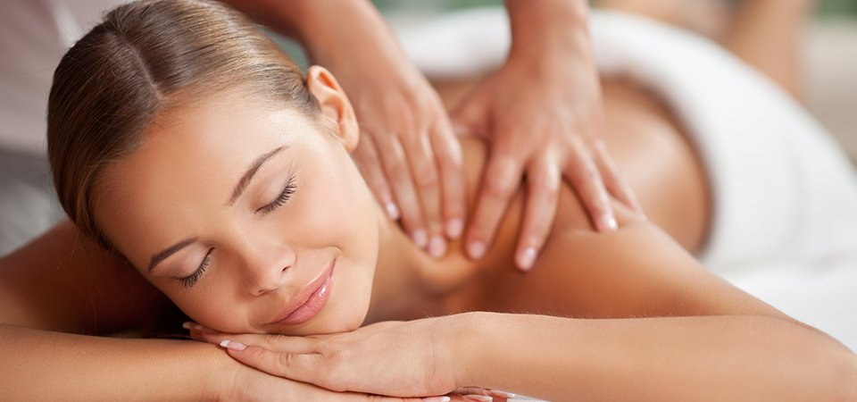 a relaxing body massage