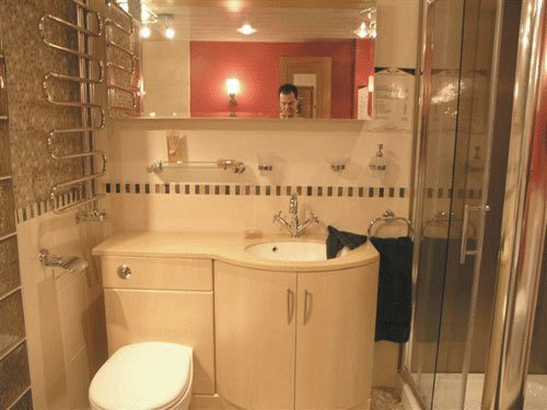 bathroom wooden cabinets