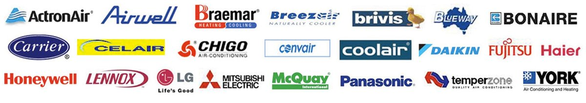 Brands Serviced by Proactive Airconditioning