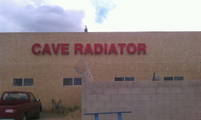 Cave Radiator's building