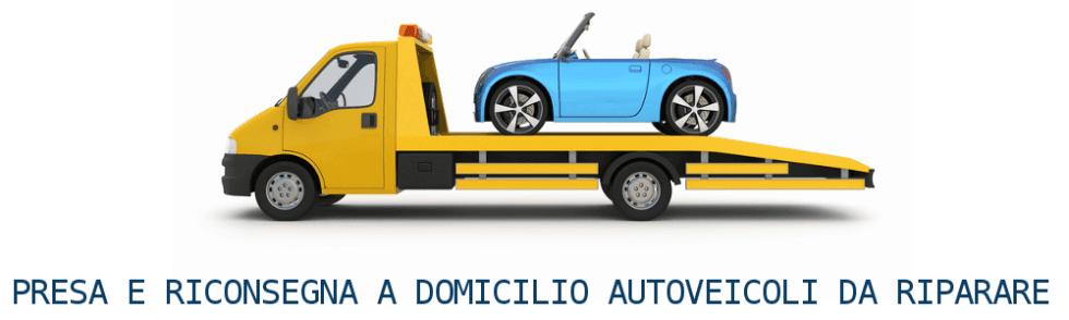 Presa e riconsegna auto incidentate