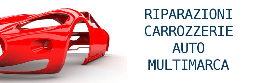 Riparazioni carrozzerie auto