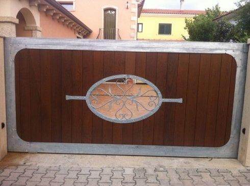 cancello legno