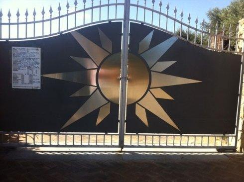 cancello sole