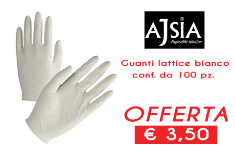 offerta guanti lattice