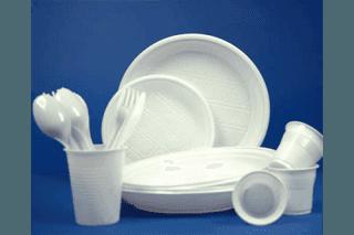 stoviglie plastica