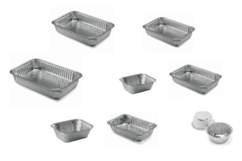 vaschette alluminio senza tappo