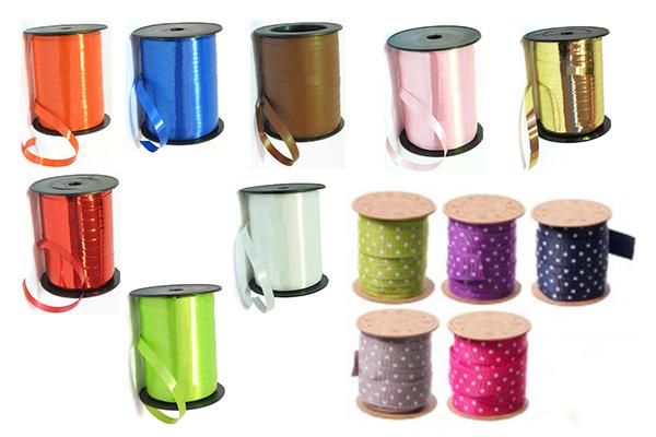 rocchette nastro colorate