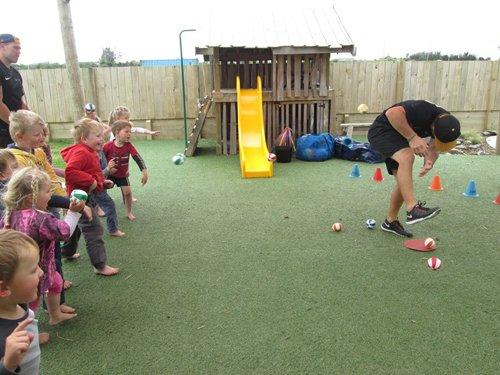 Fun activities at the kids preschool