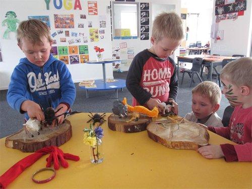 Activities for kids at the preschool