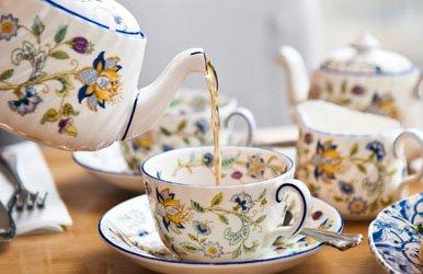 tea being served