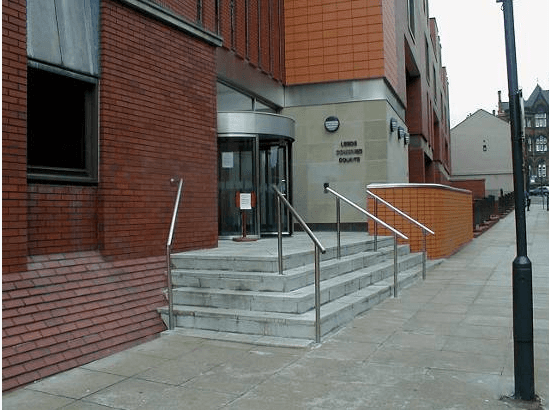 staircase bollards