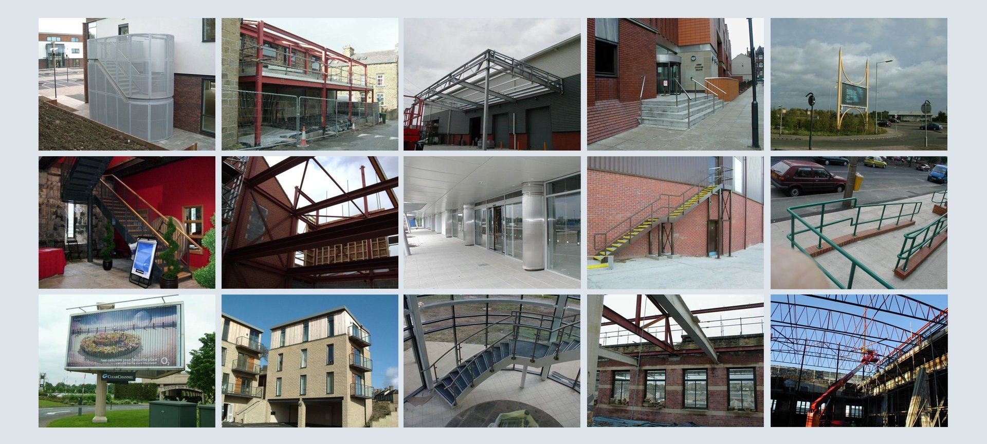 steel fabrication projects