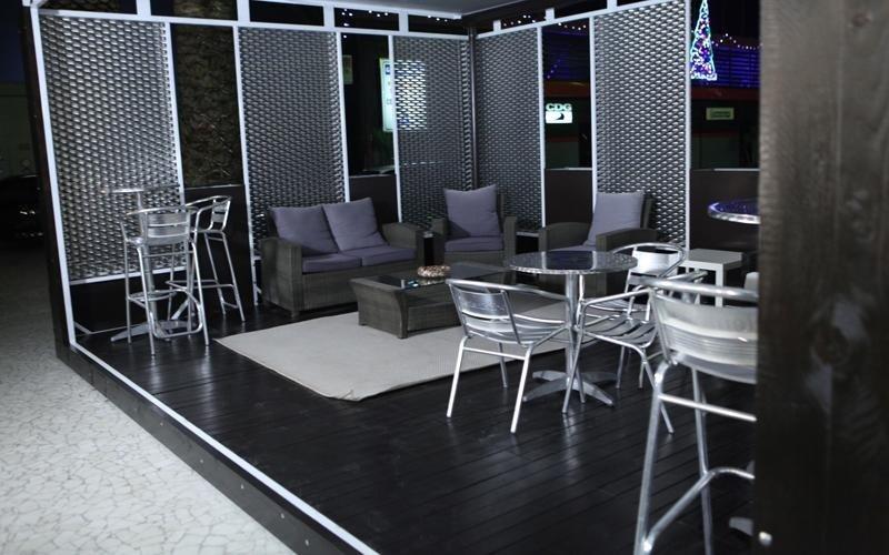 discoteca con veranda