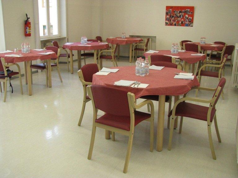 Sala da pranzo RSA Naldini Torrigiani