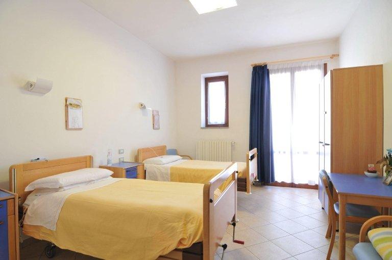 Camere per anziani con due letti