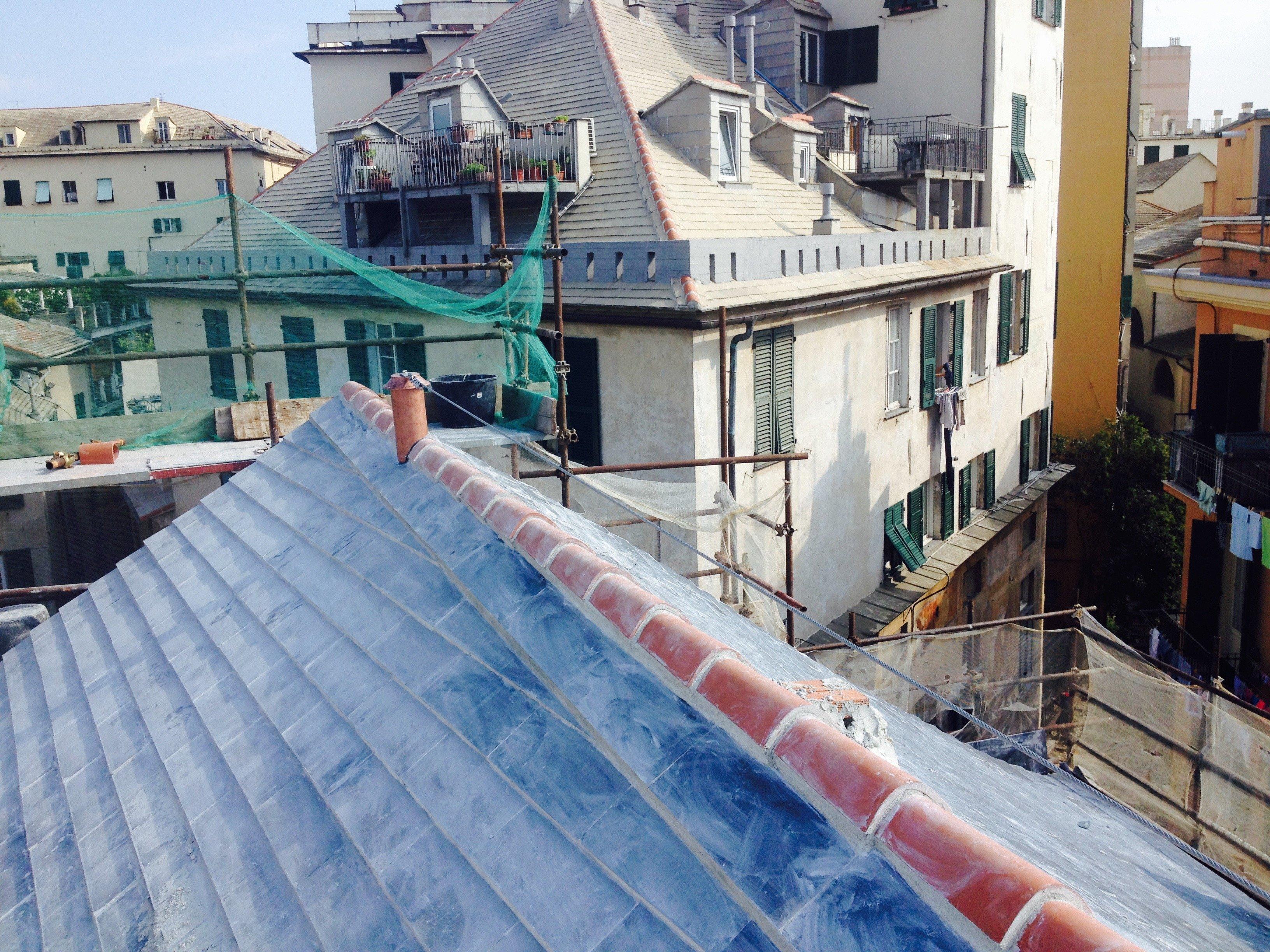 Rifacimento di un tetto spiovente