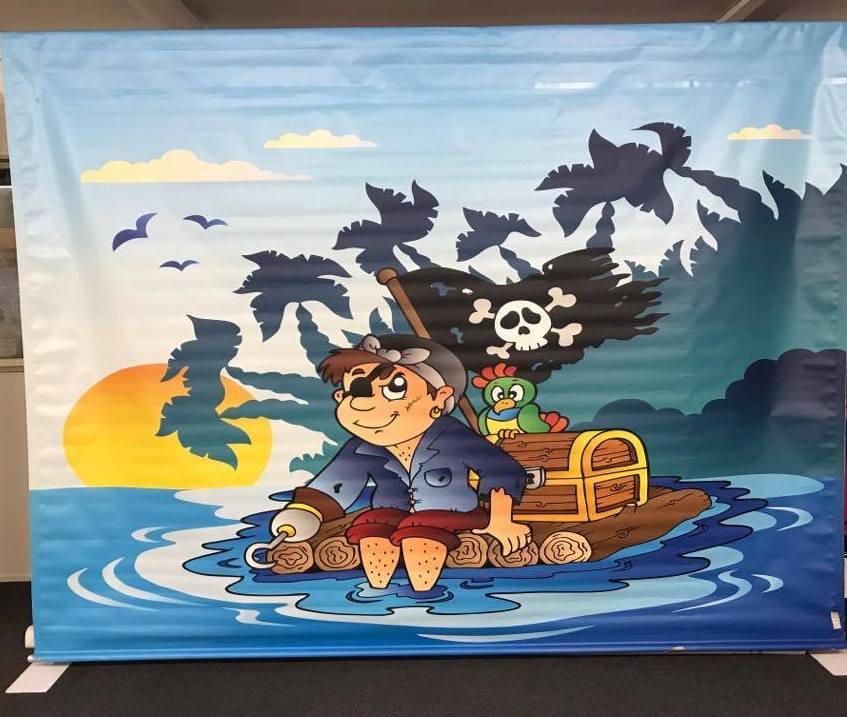 Pirate Backdrop