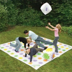 Giant twister game