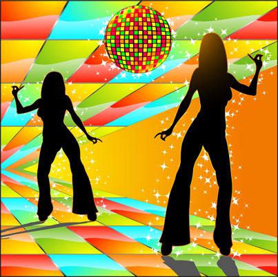 1970s Disco backdrop