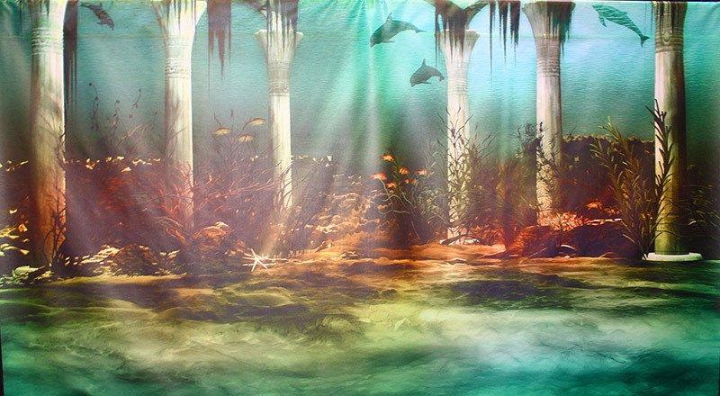 Atlantis Under The Sea Party accessories