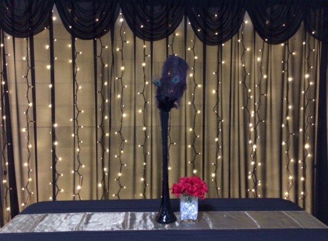 Black Fairy Curtain
