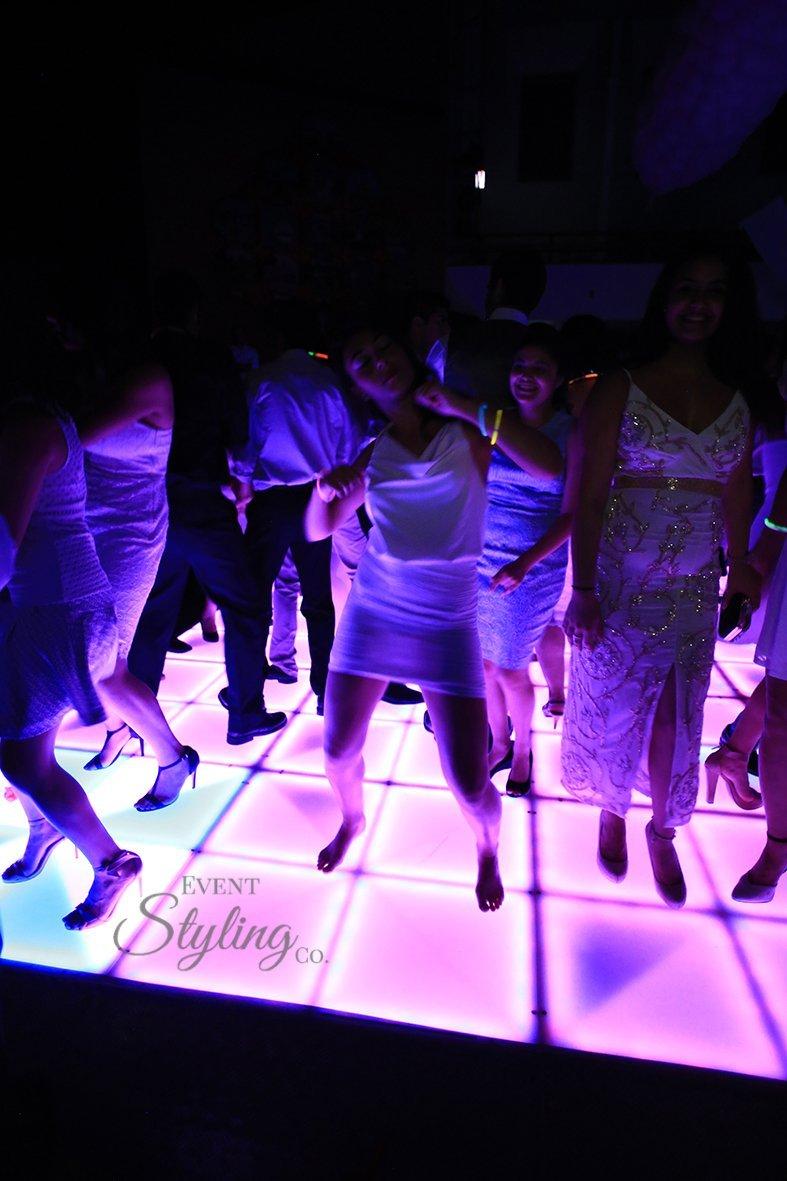LED disco dance floor