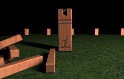 Kubb Viking Chess game