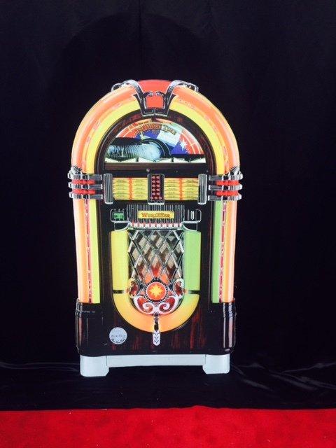 Prop 50s jukebox standee